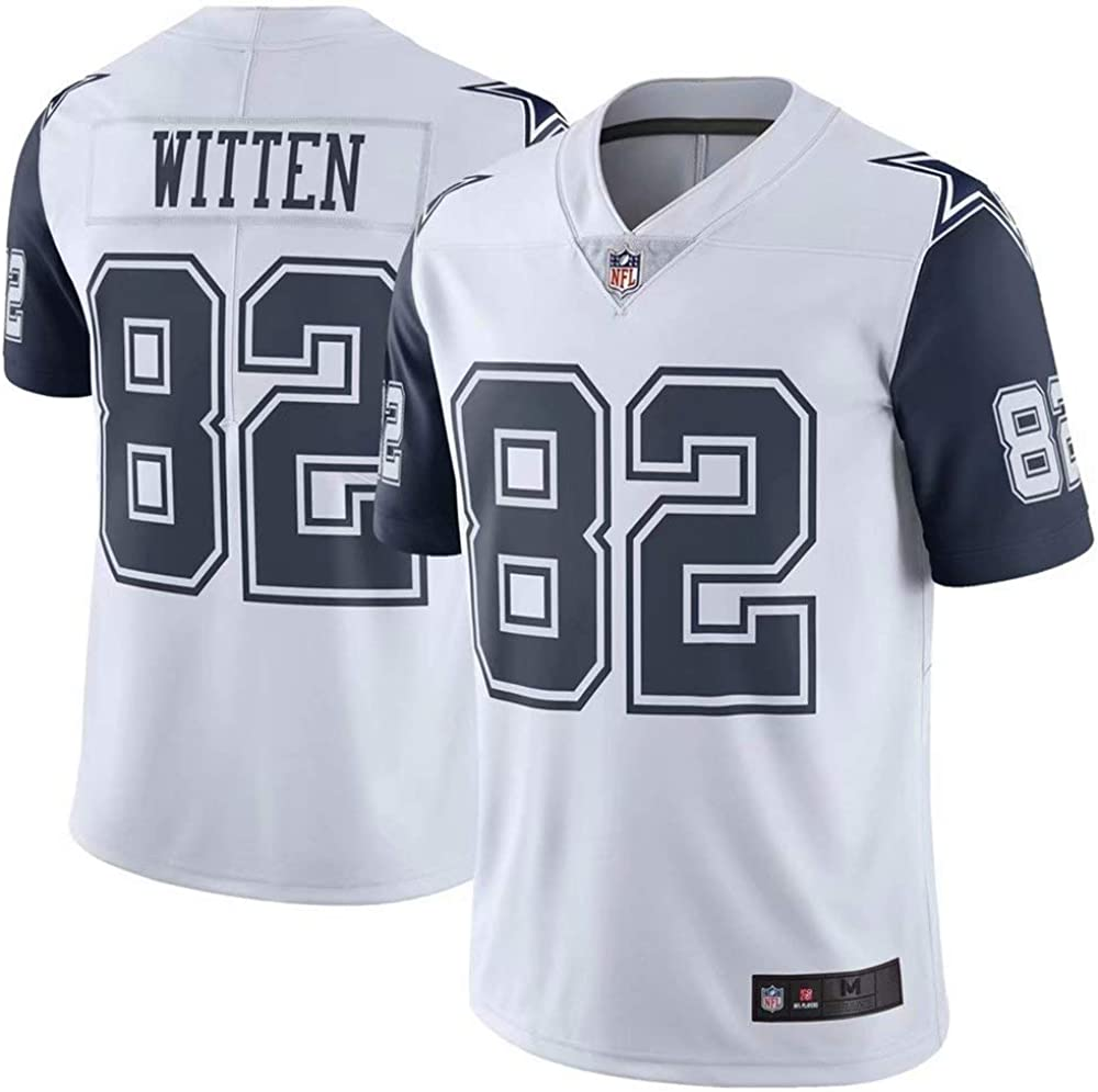 Youth #82 Jason Witten Dallas Cowboys Game Jersey