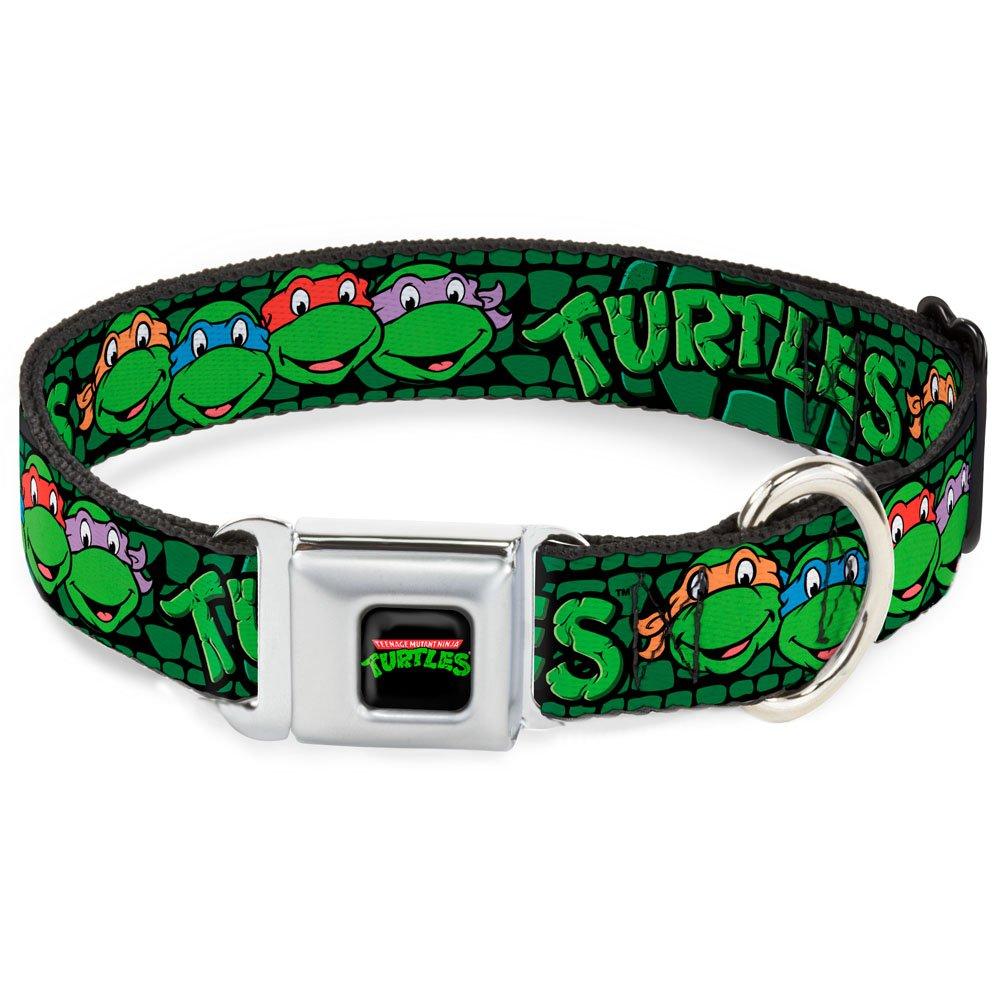 1.5\ Buckle-Down DC-WNT019-WM Dog Collar Seatbelt Buckle, Black Green, 1.5  by 16-23