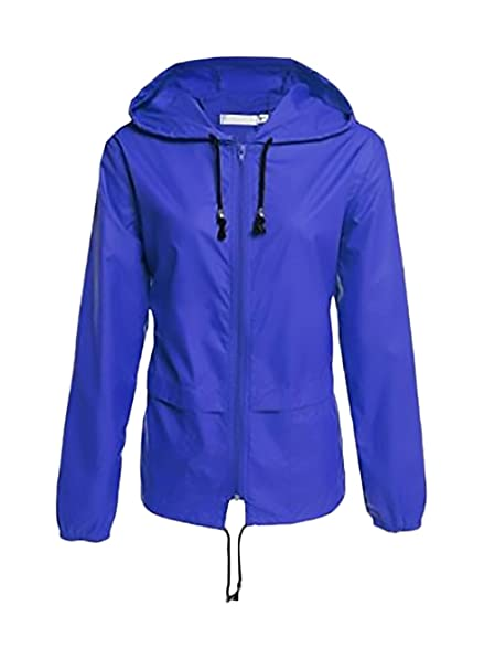 Chaquetas Impermeables Mujer Chaqueta Outdoor Con Capucha ...