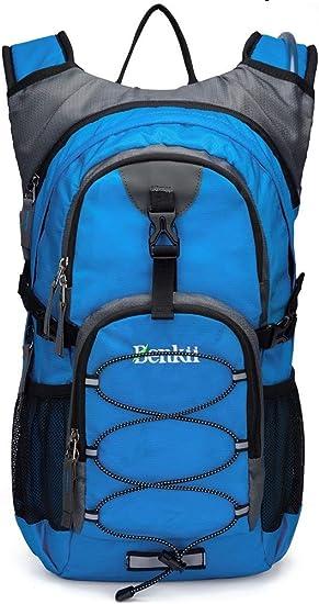 Amazon.com: Mochila de hidratación con bolsa de agua de 2 l ...
