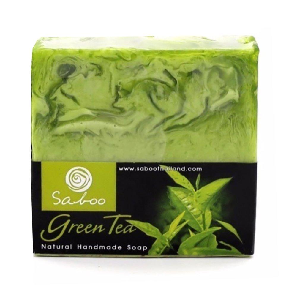 Pastilla de jabón natural artesano hecho a mano de Aloe Vera (100gr) - Antiséptico, ayuda a combatir el acné, las espinillas y los puntos negros - Hipoalergénico, apto para pieles sensibles Home Health Europe