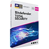 Bitdefender Total Security - 5 dispositivos, 1 ano (Digital - Via Download)