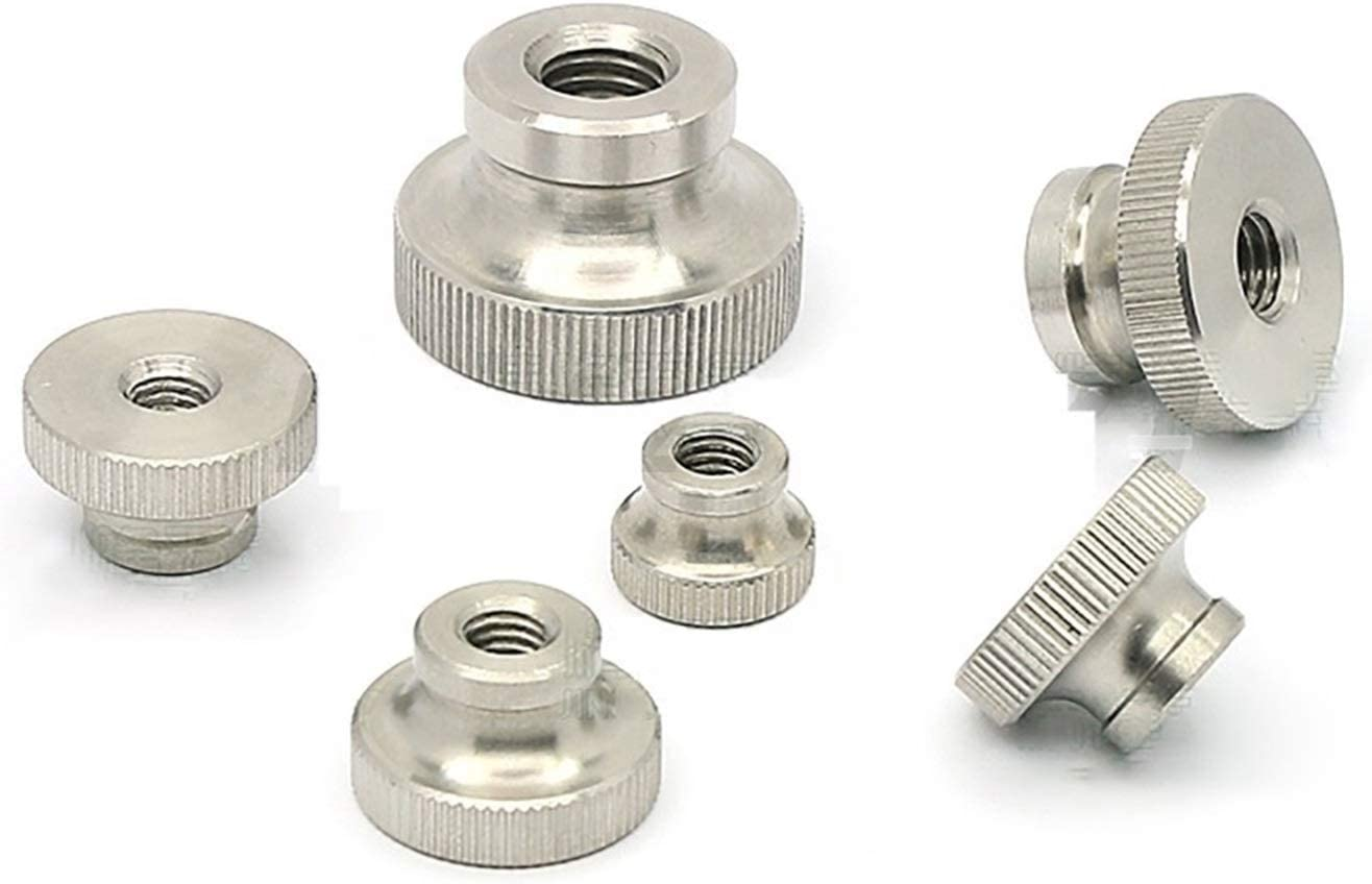 Details about  /M3 M4 M5 Ni-Plated Knurled Thumb Screw Hand Grip Twist Knob Bolts Carbon Steel