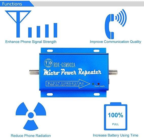 GFCGFGDRG gsm 900 MHz Mejora la señal del teléfono Antena 2g 3g Amplificador de la señal de Montaje en Pared aérea al Aire Libre-Solo Mejora la señal ...