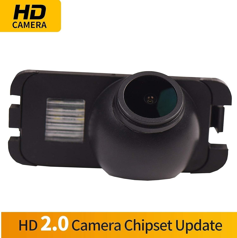 2008 /– presente Telecamera posteriore di retromarcia targa di ricambio per telecamera di retromarcia Ip69k impermeabile per Ford Mondeo 2007 2008 2009 2010 Ford Fiesta