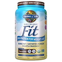 Garden of Life Raw Organic Fit Powder, Organic & Non GMO Vegan Nutritional Shake