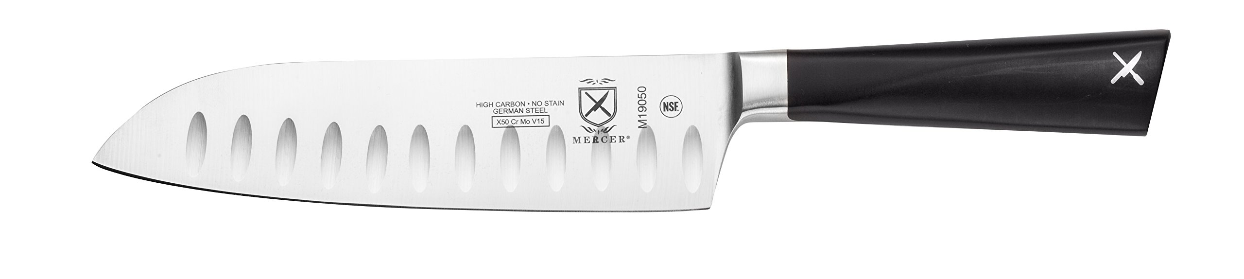 Mercer Culinary Züm Forged Santoku Knife, 7 Inch