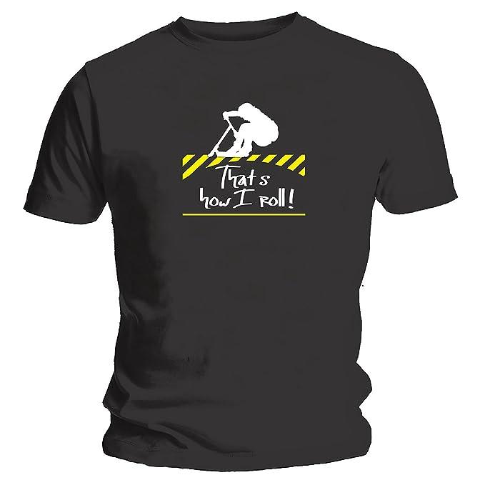 Camiseta con leyenda «How I Roll» para niños amantes del ...