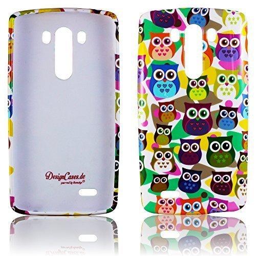 carcasa Case LG G3 TPU silicona PEQUEÑO BUHO diseño de protección contra la caja del teléfono pegatina de thematys®