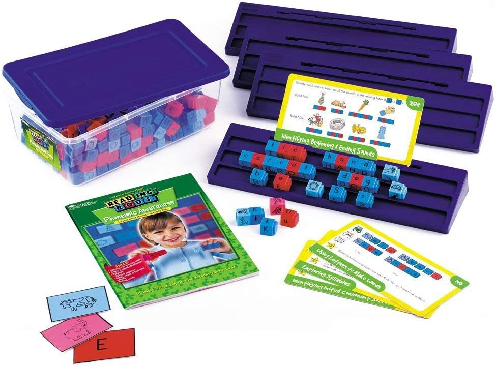 Learning Resources Reading Rods Phonemic Awareness Kit manipulative for reading
