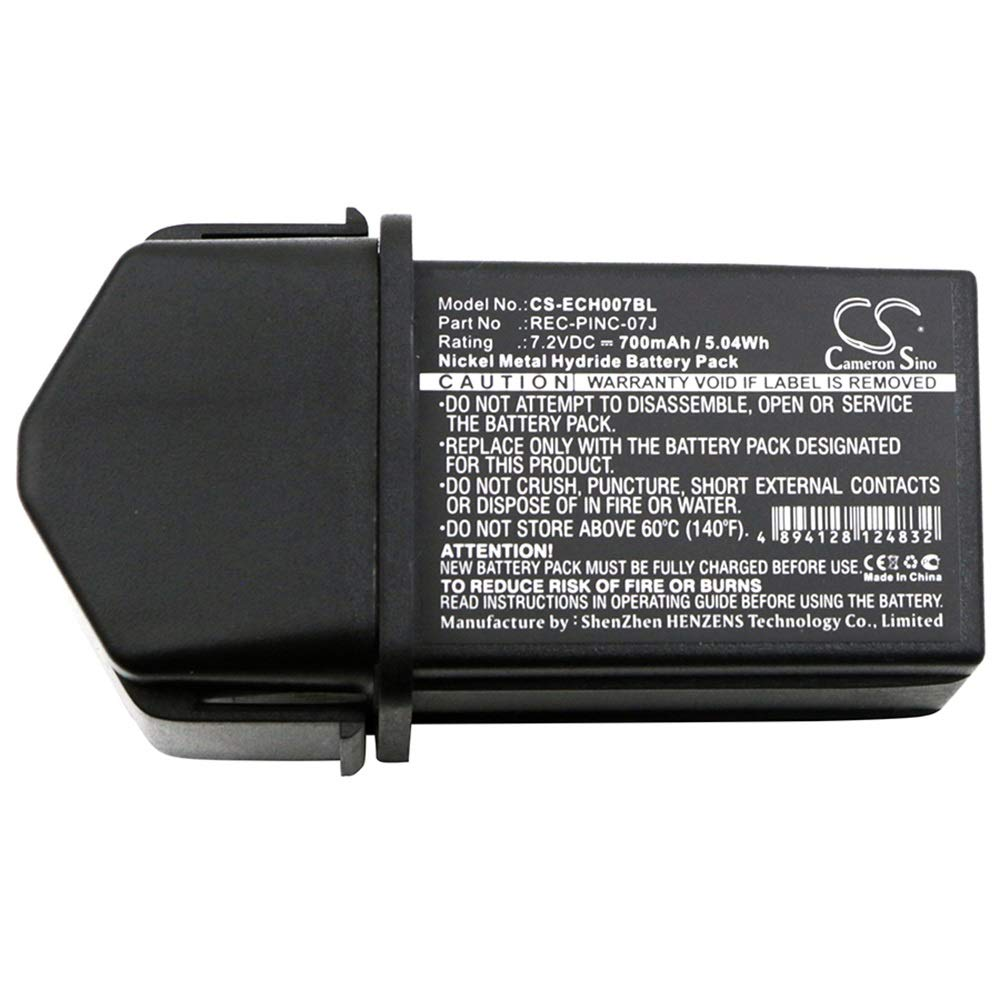 Aiyawear 700mAh/5.04Wh 7.2V Ni-MH Crane Remote Control Battery Compatible Compatible with ELCA Fit Model CONTROL-07, CONTROL-07MH-A, CONTROL-07MH-D (Color : Black, Size : 75.80 x 42.50 x 42.00 mm)
