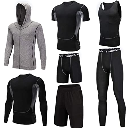 Conjunto de ropa de gimnasia para hombre Traje deportivo para ...