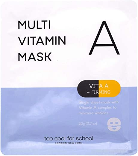 Too Cool for School Multi Vitamin Mask, Vita A plus Firming