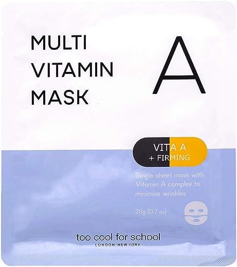 Too Cool for School Multi Vitamin Mask, Vita A plus Firming