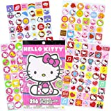 Hello Kitty Stickers Set ~ Over 300 Hello Kitty Stickers, Activity Pages and Door Hanger (Hello Kitty Party Supplies)