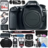 Canon EOS 80D Digital SLR Camera Body + ULTIMATE PRO Bundle