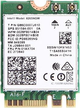 Amazon.com: Dual Band Wireless- AC 8265 8265 Ac NGFF tarjeta ...