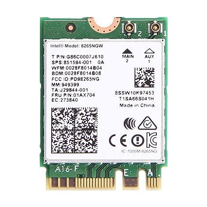 intel dual band wireless-ac 8265 problems