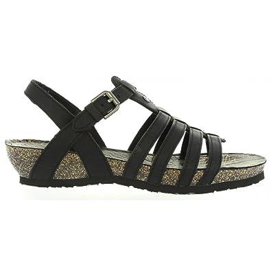 Panama Jack DUNA BASICS B1 Negro - Livraison Gratuite avec  - Chaussures Sandale Femme