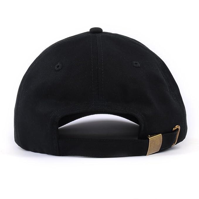 Amazon.com  Rose Embroidered Dad Hat Adjustable Women Men Cotton Floral  Baseball Cap (Black)  Clothing ca515cf57d55