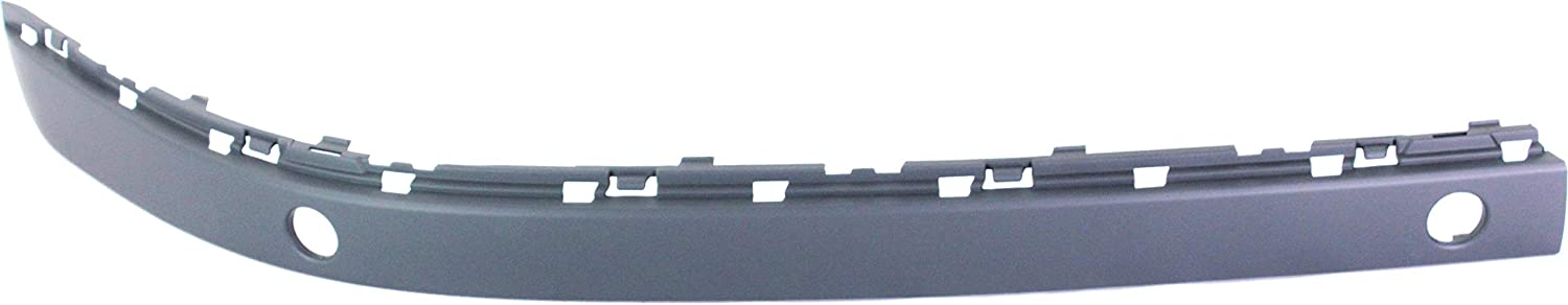 Front Bumper Molding Compatible with 2006-2008 BMW 750Li//750i Outer with Sensor Hole Passenger Side