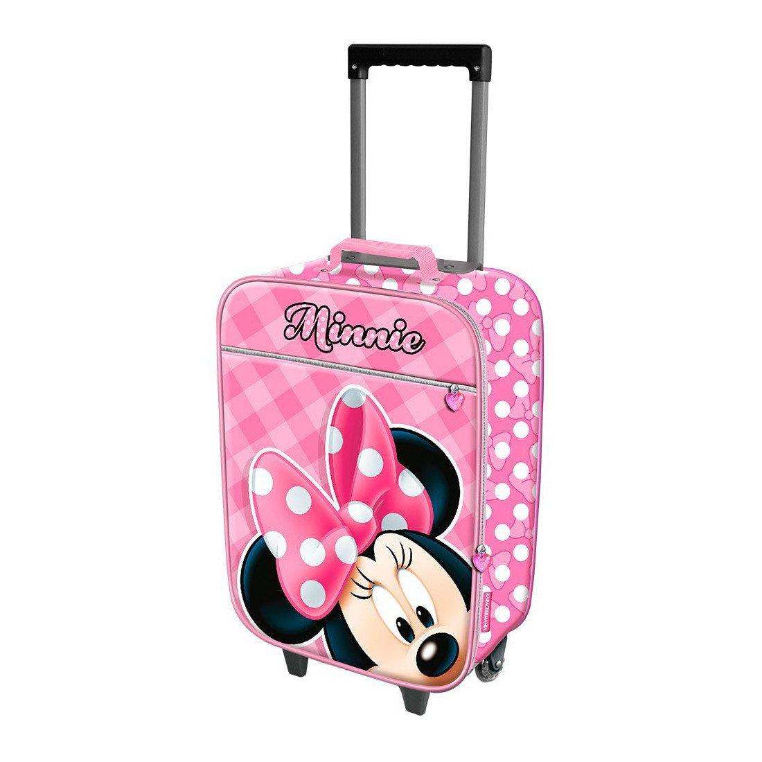 Carro de equipaje de mano por Minnie karacter Mania rosa bebé 93849: Amazon.es: Ropa y accesorios