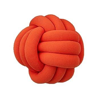 Amazon.com: Almohada de nudo con forma de bola, para ...