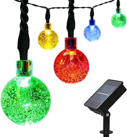 LED String Light Garden Path Party Decor Lamp Outdoor Warm White Christmas Xmas