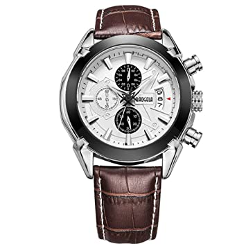 017edfef9899 WERTY K Relojes Deportivos para Hombres  Militar
