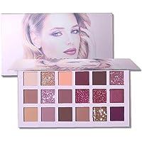18 Colours Eyeshadow Makeup Palette Matte Shimmering Glitter Shades High Pigmented Eye Powder Easy To Blending Eyes…