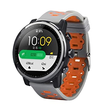 Zolimx Deporte Suave Silicona Correa de Reemplazo Pulsera Relojes Inteligente para Xiaomi Huami Amazfit Stratos 2/2S Fitness Smartband (G): Amazon.es: ...