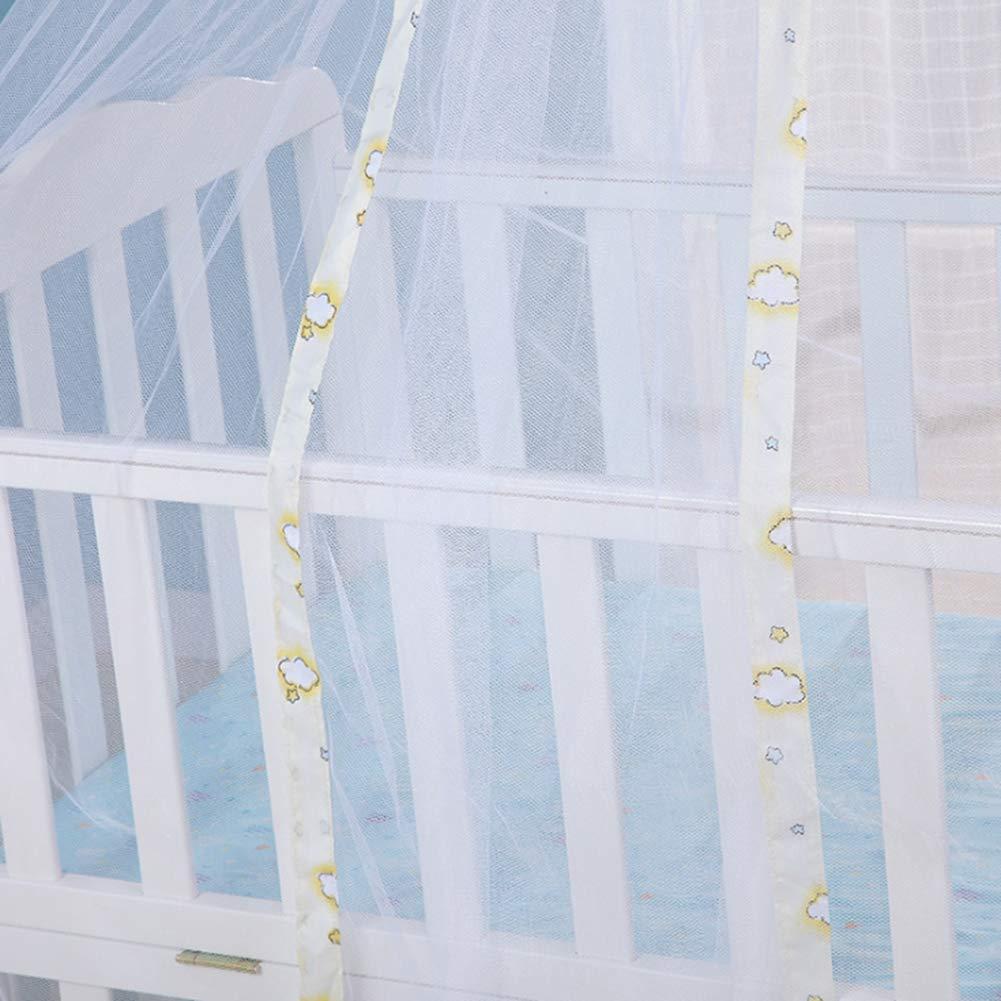 mosquitera de Encaje Plegable para Cuna y Cuna Malla mosquitera para Cuna de beb/é mosquitera de beb/é