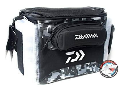 7236b75b4e9 Amazon.com : Daiwa DJTB-60CBO D-Vec Jig Tote Combo Bag with 60 Sz ...