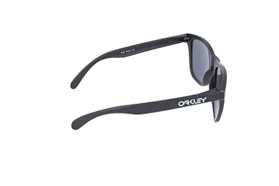 d5d8e5d00b Amazon.com  OAKLEY 9013-24-297 SUNGLASSES MATTE BLACK BLACK IRIDIUM  POLARIZED 55MM  Oakley  Clothing
