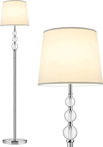 Crystal LED Floor Lamp