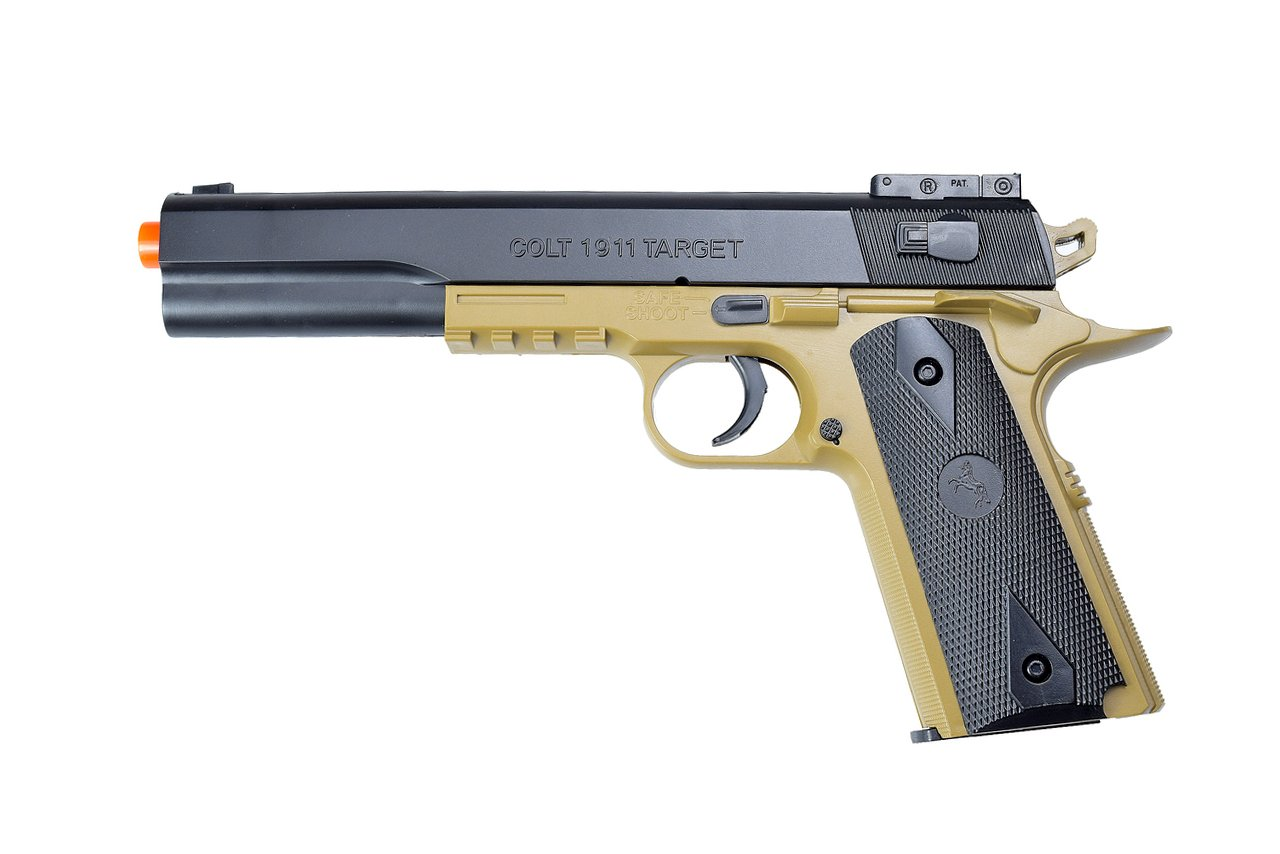 colt 1911 airsoft pistol spring full metal
