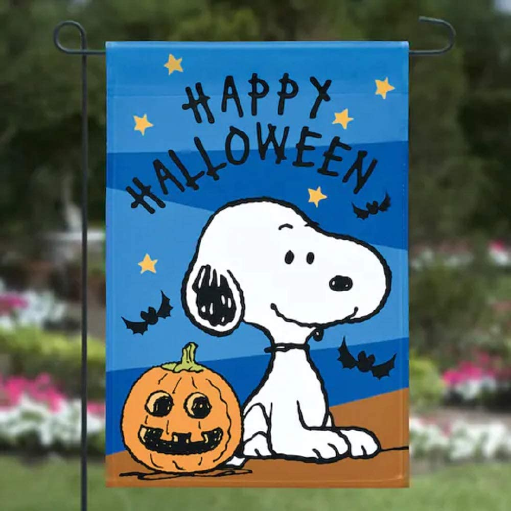 New Peanuts Snoopy Garden Flag 12x18 Life Is Better with a Dog Double Sided