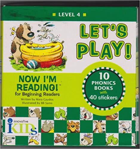 Book Let's Play!: Level 4 10 Story Books With 40 Stickers (Now I'm Reading)