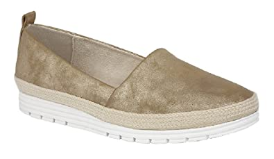 df5a96f6e57 Cipriata Women s Manu Side Gusset Casual Wedge Shoes  Amazon.co.uk  Shoes    Bags