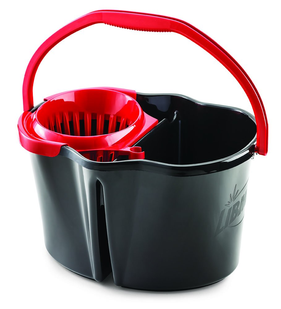 4 Gallon Libman Clean /& Rinse Bucket