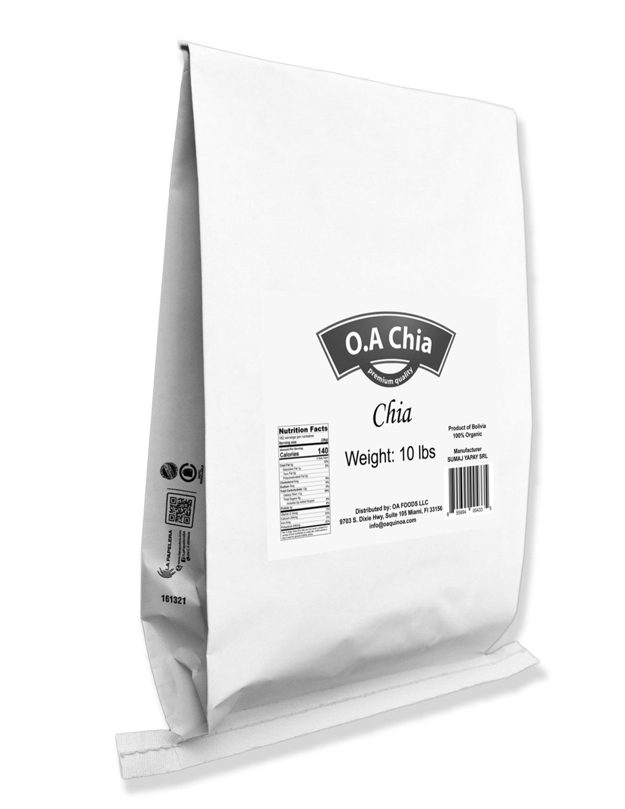 Chia Bulk (10 Lb) by OA CHIA (Image #2)