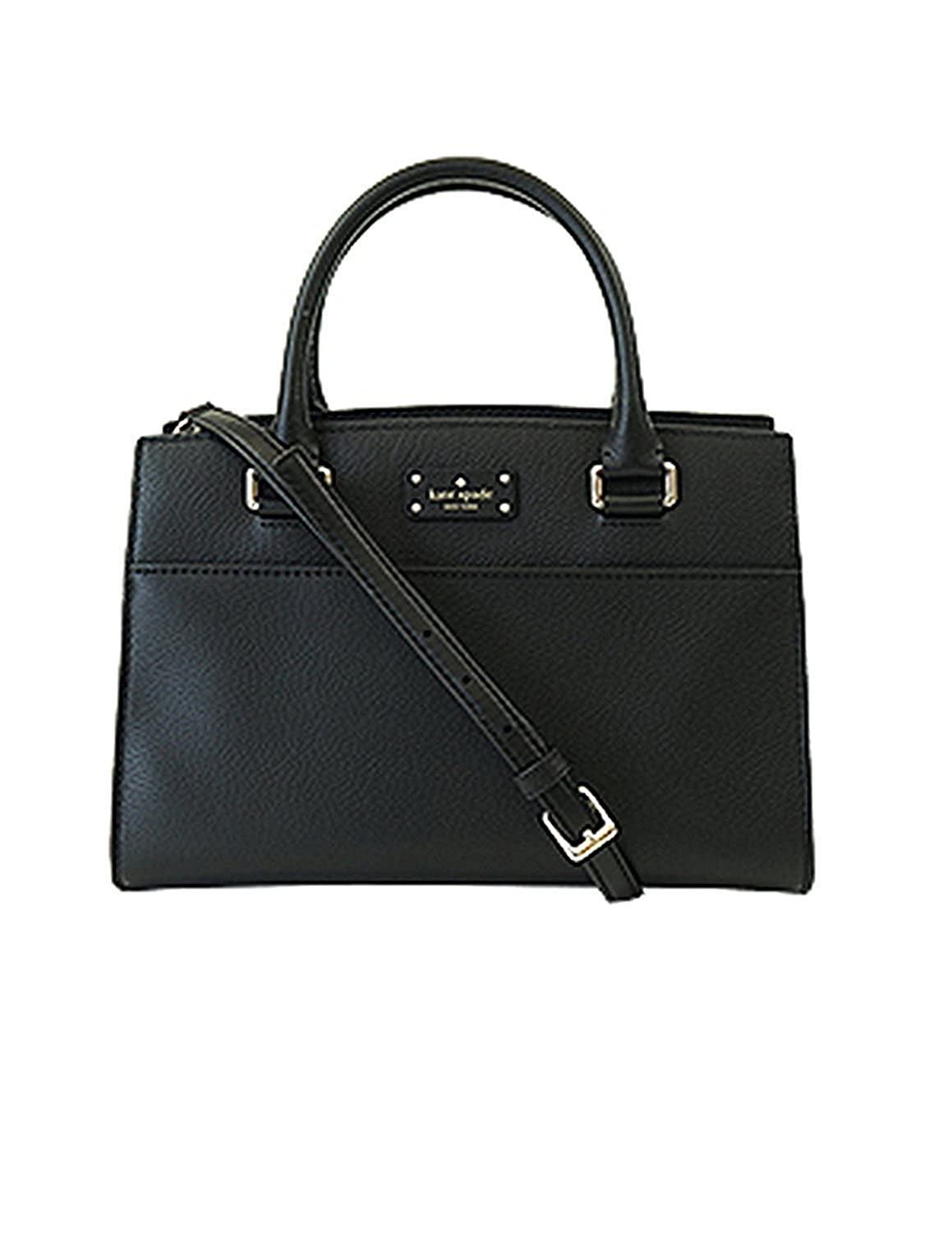 Kate Spade Small Caley Grove St Black Satchel 00_KOFRLOEF_02