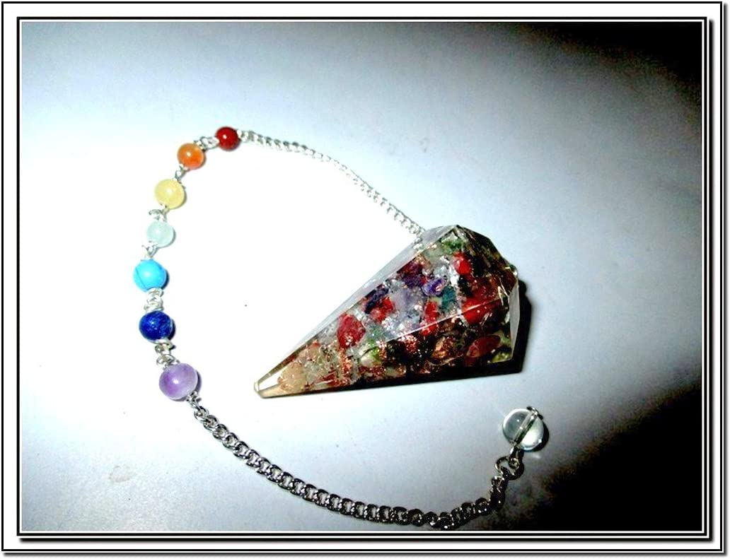 Loving Nature Necklace with Orgone Energy Bead; Auric Energy Field Clearing