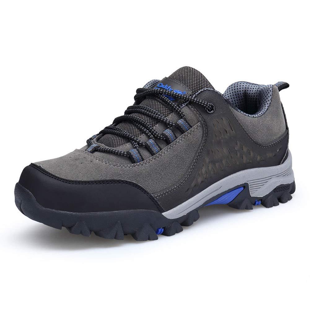 FHTD Männer Wasserdichte Wanderschuhe Leichte Trekking Wanderschuhe Low Rise Outdoor Klettern Stiefel Größe  6-10.5