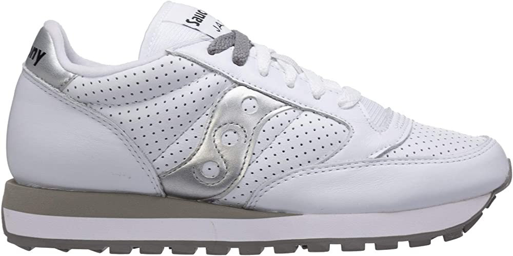 Pierced White Leather 41(EU) -7.5(UK