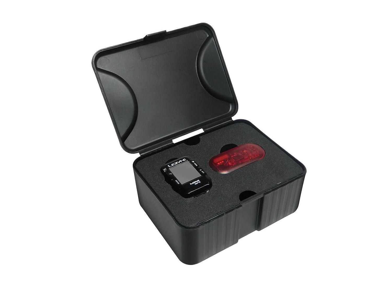 Lezyne Mini GPSサイクリングコンピュータW/ハートレート One Size ブラック B01L212SGY