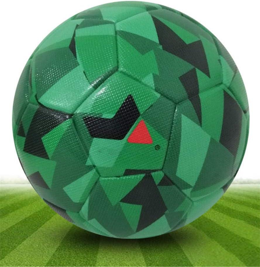 Shenhai Fútbol Camuflaje Pegamento pu4 fútbol Mundial Copa fútbol, Verde, número 3: Amazon.es: Hogar