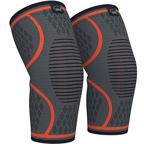 Modvel Compression Knee Sleeve, 1 Pair Only $7.99
