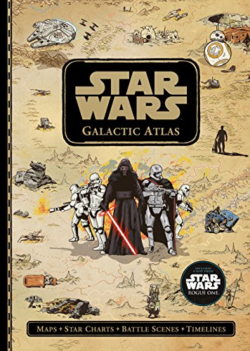 Star Wars Galactic Atlas, by Lucasfilm Ltd