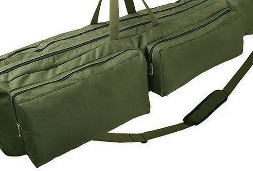 Festnight Rutentasche Angeltasche Rutenfutteral 80cm//100cm//130cm//150cm Tragbare Angelrute Tasche Tragetasche Organizer